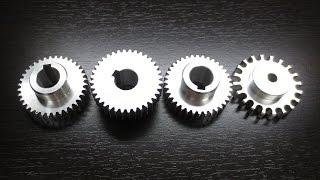 Как сделать шестерёнки - homemade gear