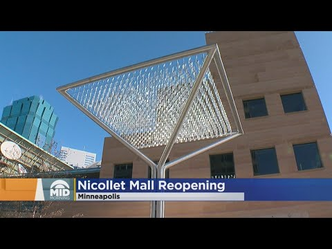 Minneapolis Officials To Celebrate Re-Opening Of Nicollet Mall