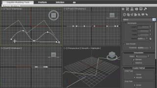 Сплайн Линия в 3DsMax 2010 (18/42)
