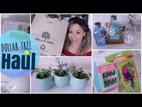 DOLLAR TREE HAUL May 2019 Nautical Decor New FINDS