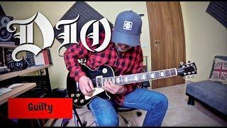 """Dio/doug aldrich - """"guilty"""" guitar solo (my version)"""