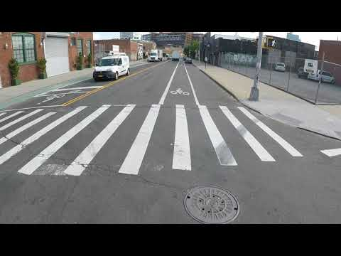 Cycling from Long Island City, Queens to Chinatown, Manhattan, NYC via Waterfront & Manhattan Bridge