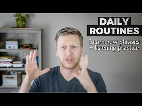 Learn English: Talking About Daily Routines