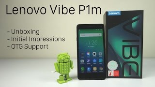 Lenovo Vibe P1m Unboxing and Initial Impressions (Indian Retail Unit) | AllAboutTechnologies