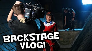 VLOG #2016 van PARTY PIET PABLO - BACKSTAGE BIJ THEATERTOUR EN ACHTBAAN JULIANATOREN IN
