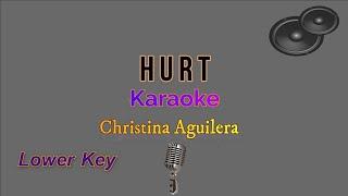 Hurt - christina aguilera (karaoke ...