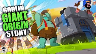 How the Goblin Became the Goblin Giant | Clash Royale Origin Story of the Giant Goblin | WoC Story