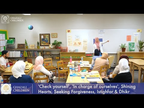 GHAZALI WORKSHOPS: Activities for the Book of knowledge and Purity - Beverly Hills Academy