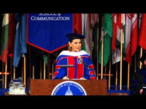 SOC Commencement Speaker Maria Elena Salinas - YouTube