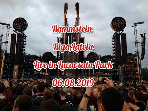 Rammstein Live In Lucavsala Park (06.08.2019) FULL CONCERT