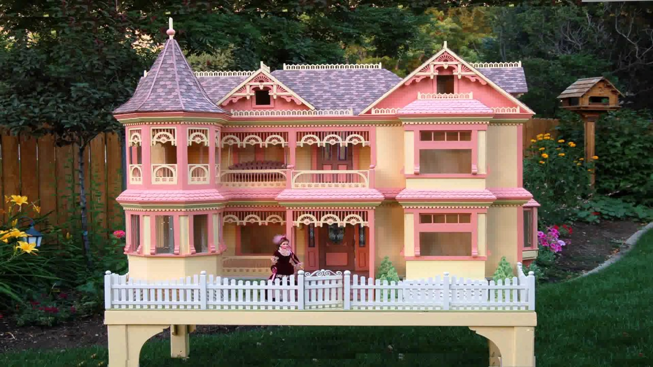 Design Your Own Barbie House - YouTube