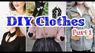 Best Compilation 16 DIY Clothes Tutorial Part 1