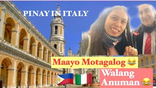 AN ITALIAN DRIVER SPEAKS TAGALOG ? 😱AMAZING /PINAY IN ITALY /The JellyGions