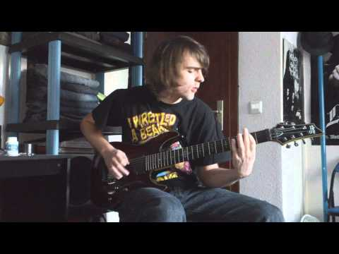 Suicide Silence - Bludgeoned To Death (Guitar Cover) [HD]