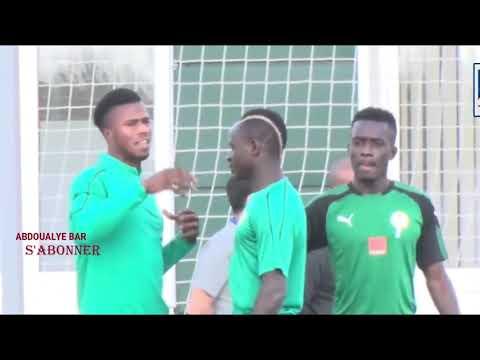 CAN 2019:Drôle Discussion entre Sadio Mané et Keita Baldé Diao(imagination)