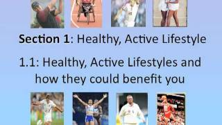 Gcse pe healthy active lifestyle lesson