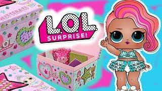LOL Surprise  Pudełeczko DIY pełne niespodzianek  Mystery Box