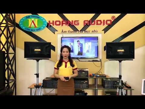 Loa Karaoke giá rẻ nhưng chất  - Loa Karaoke tốt HAS 312E - Hoàng Audio