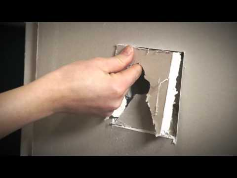 Bunnings D.I.Y Hints and Tips - Fixing A Hole In The Wall