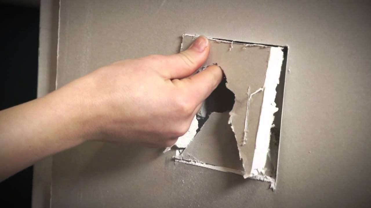 Bunnings D I Y Hints And Tips Fixing A Hole In The Wall
