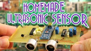 Homemade ultrasonic distance sensor + theory