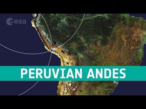 Earth from Space: Peruvian Andes