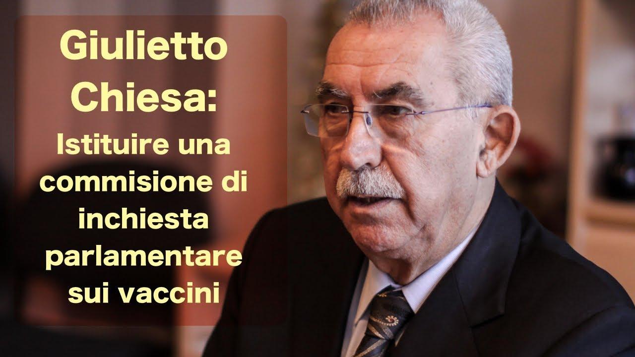 Giulietto Chiesa: Istituire una commissione di inchiesta sui vaccini.