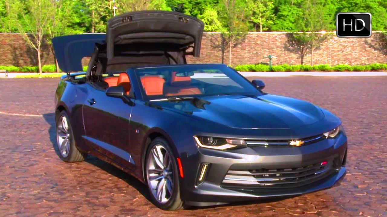 2016 Chevrolet Camaro Convertible Sixth Generation Exterior Interior Design Hd You