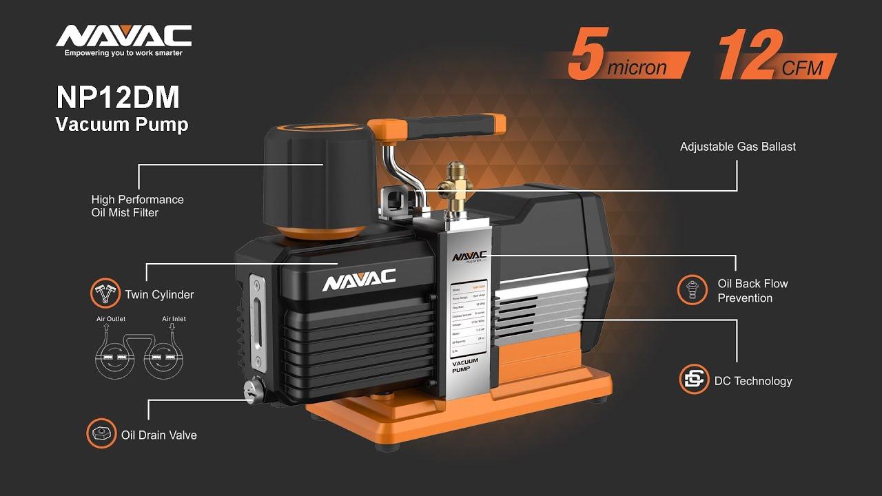 NAVAC – NP12DM – Vacuum Pump