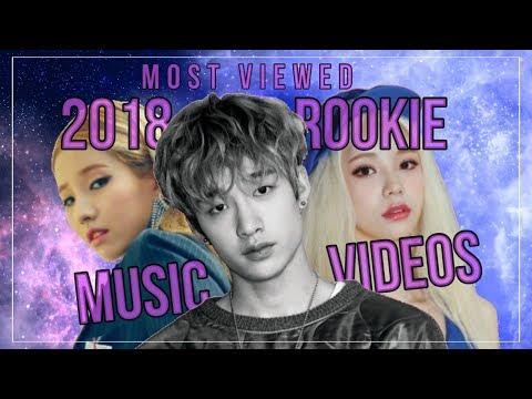Most Viewed 2018 KPOP Rookie MVs