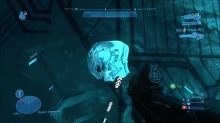 Halo Reach - Mystery Of The Secret Monitor On Installation 04 (SOLVED)