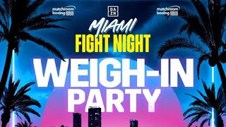 Jake Paul Vs. AnEsonGib WEIGH IN (Official Live Stream)