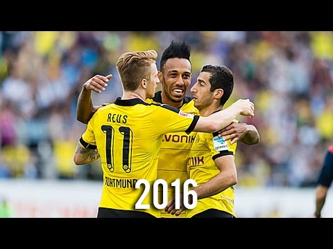 Reus Aubameyang Mkhitaryan - Best Skills & Goals 2016   HD