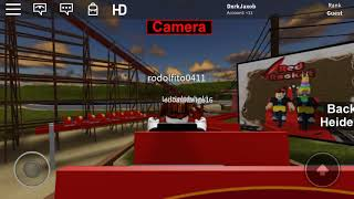 Red rocket simulator ROBLOX