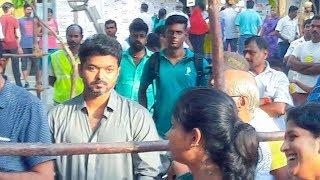 Actor Vijay Voting in Lok Sabha Polls in Chennai   nba 24x7
