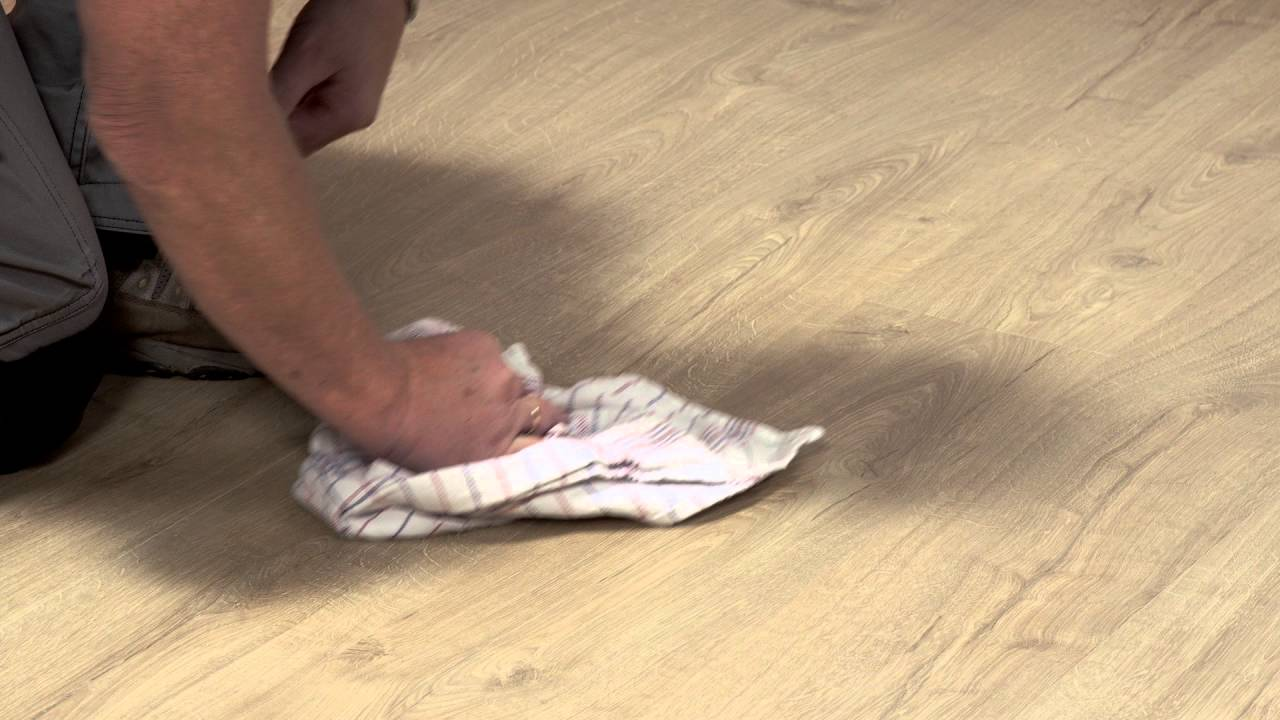 Laminate Flooring Maintenance How To Deal With Water Spills Youtube