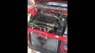 Rover 420 gsi sport K series 2 litre start up from cold. Engine for sale