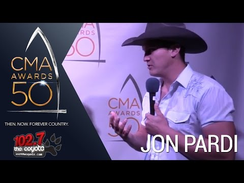 CMA Awards 50: John Pardi talks about his Halloween costume he wore on stage