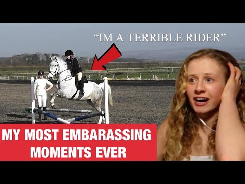 REACTING TO RIDING MY HORSES FOR THE FIRST TIME