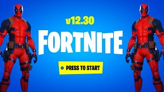 *NEW* FORTNITE UPDATE OUT RIGHT NOW! NEW Items & Deadpool Skin! (Fortnite Battle Royale LIVE)