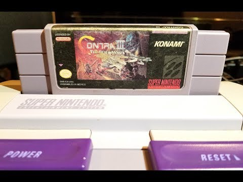 Classic Game Room - CONTRA III review for Super Nintendo