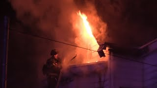Paterson NJ Fire Dept 2nd Alarm Fire 412 Rosa Parks Blvd 12-27-17