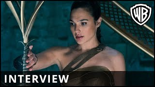 Wonder Woman - Gal Gadot Interview - Warner Bros. UK