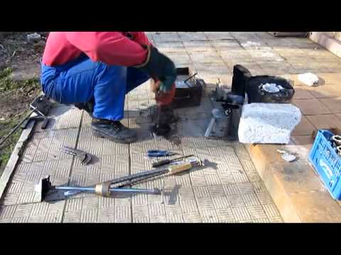 Литье алюминия часть 2  Отливка корпуса ЛК