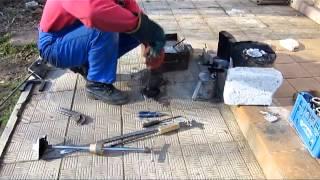 Литье алюминия часть 2  Отливка корпуса ЛК(, 2013-05-04T08:33:32.000Z)