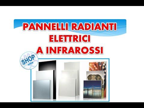 Riscaldamento Con Pannelli Radianti Elettrici Infrarosso Youtube