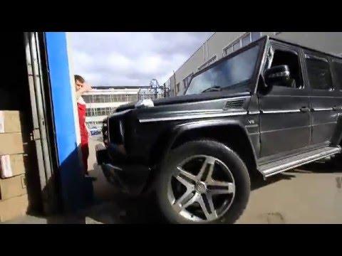 Mercedes Benz G55 тюнинг тормозов