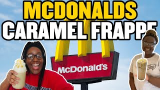 HOW TO MAKE A MCDONALD'S CARAMEL FRAPPE FT NOTHANDO TSHUMA| KAY SHANTEL