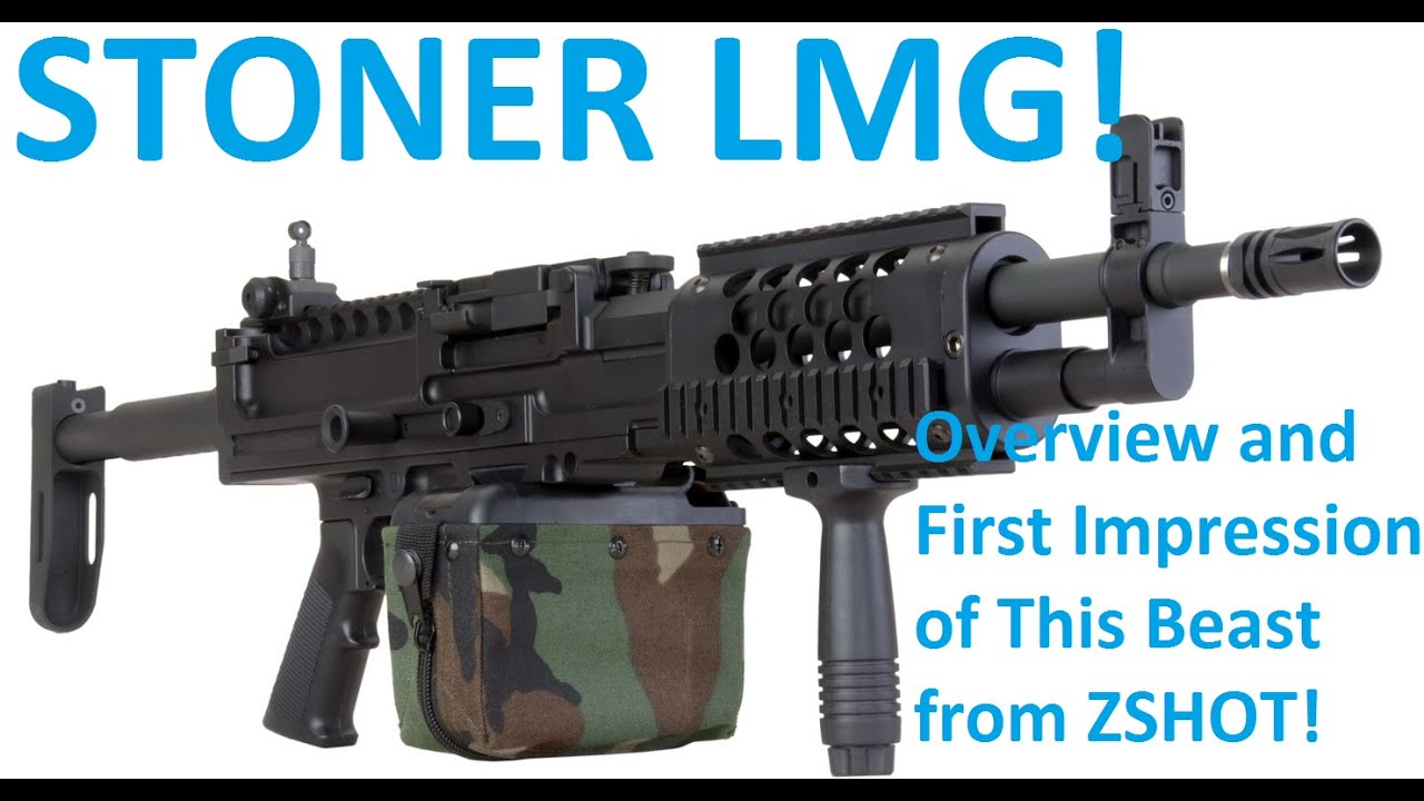 Airsoft stoner lmg overview youtube thecheapjerseys