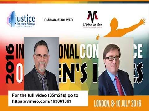 15 April 2016: Paul Elam and Mike Buchanan - Male Genital Mutilation, London conference